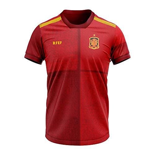 Camiseta réplica oficial de la primera equipación de la selección española