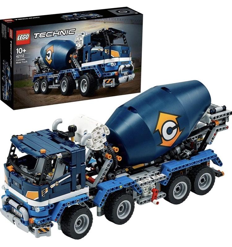 LEGO- Technic Camión Hormigonera Coche de Juguete de Construcción, Multicolor (42112)
