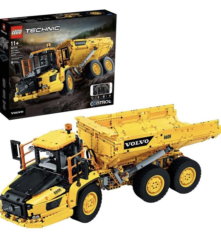 LEGO 42114 Technic Dúmper Articulado Volvo 6x6 Camión de Juguete, Vehículo de Construcción (Lego 42114)