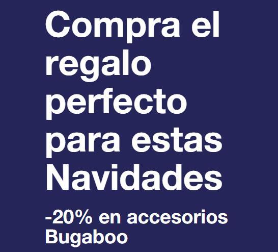 20% descuento en accesorios Bugaboo