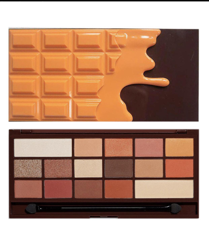 Paleta de sombras chocolate