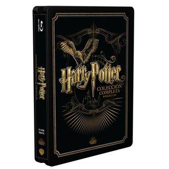 Pack Saga Harry Potter - Steelbook Blu-Ray precio socios.