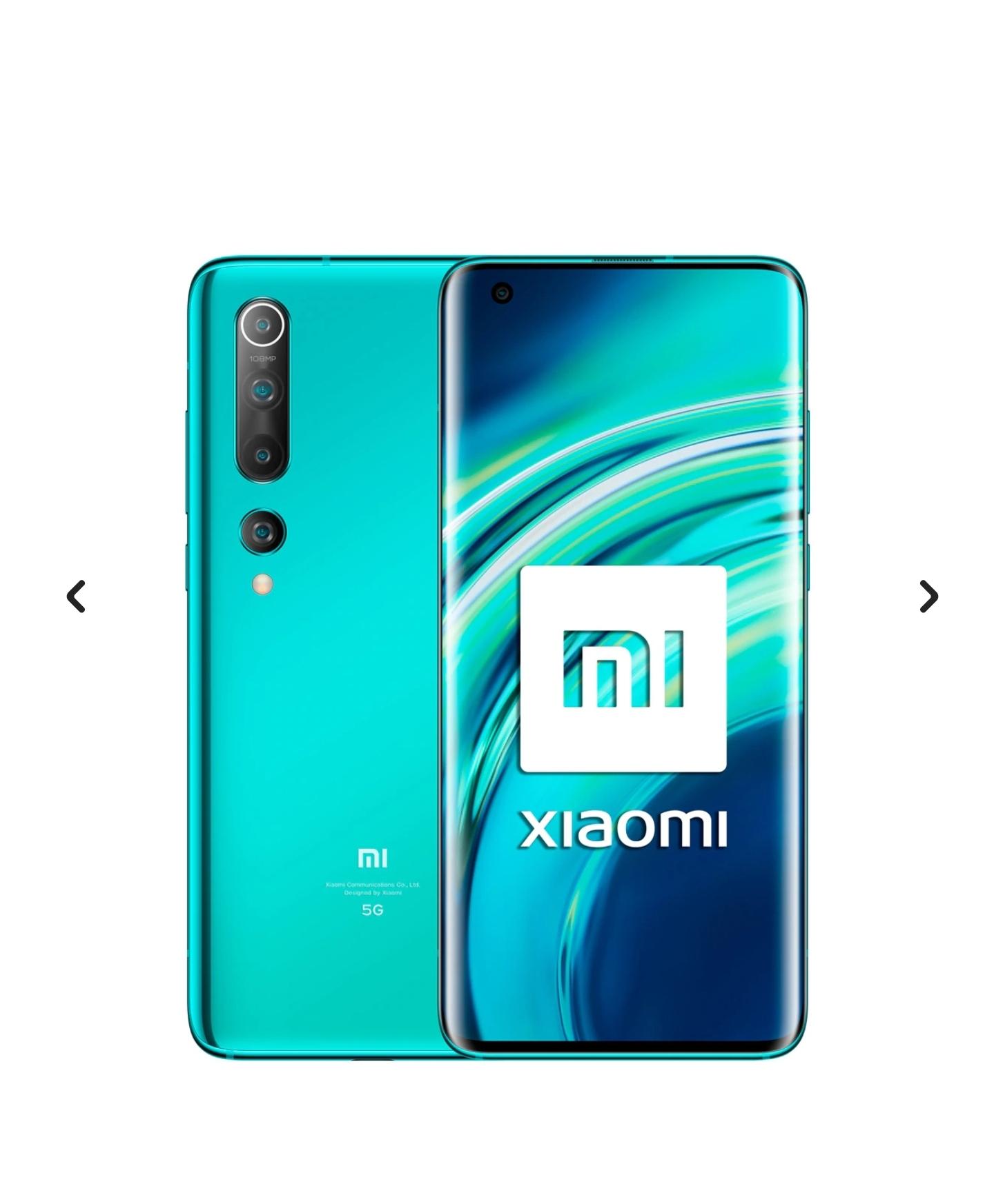 Xiaomi Mi 10 5G 8+128 GB Coral Green y Twilight Grey