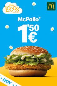Días Locos McDonalds McPollo 1,50€