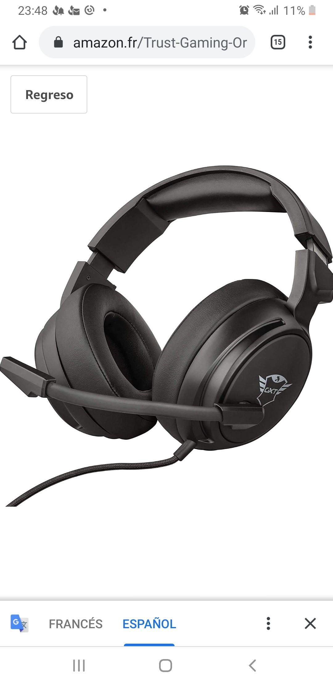 Trust Gaming GXT 433 Pylo Gaming Headset Micrófono para consolas y PC,