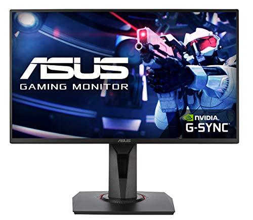 ASUS VG258QR Monitor gaming de 24.5 pulgadas FHD (1920 x 1080), 0.5 ms, hasta 165 Hz, DP, HDMI, DVI-D, FreeSync