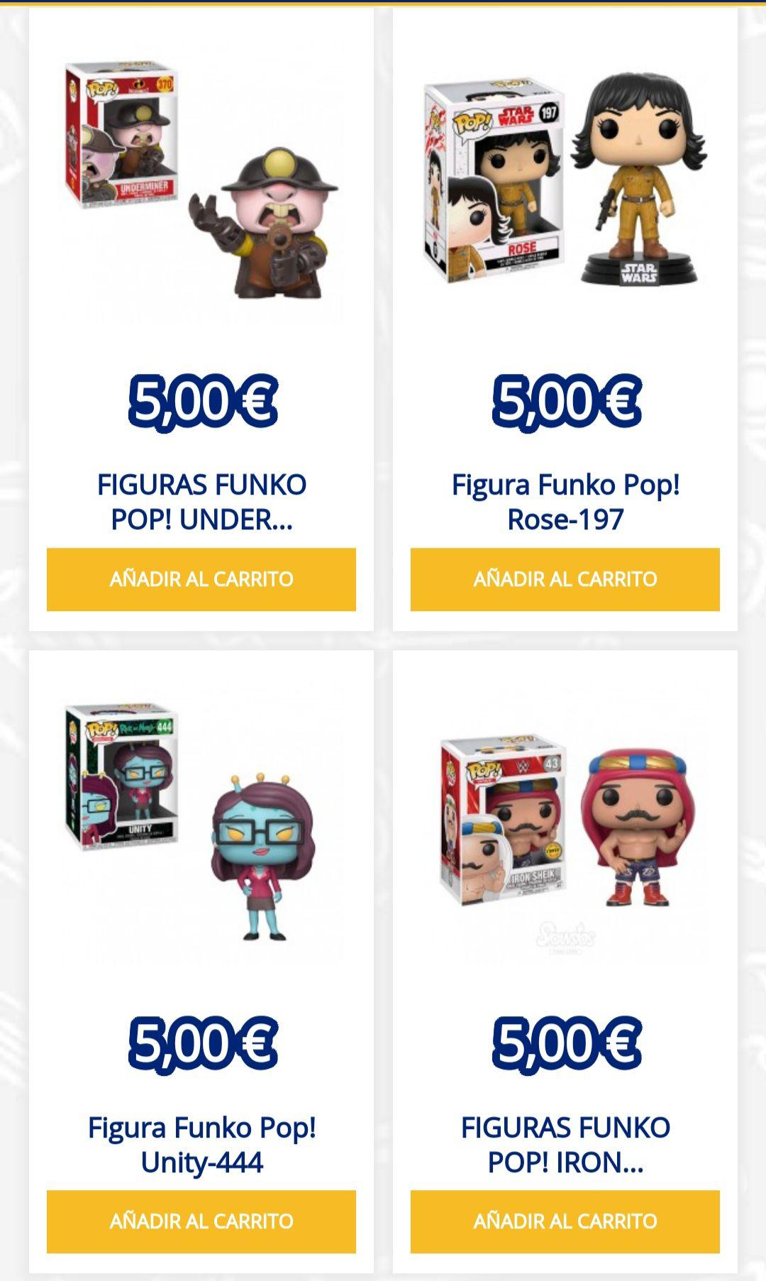 Funko pop desde 5€