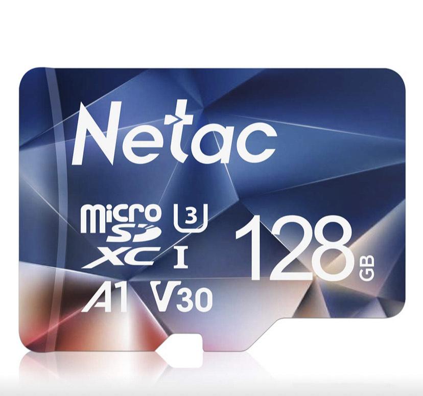 Netac Tarjeta de Memoria de 128GB, Tarjeta Memoria