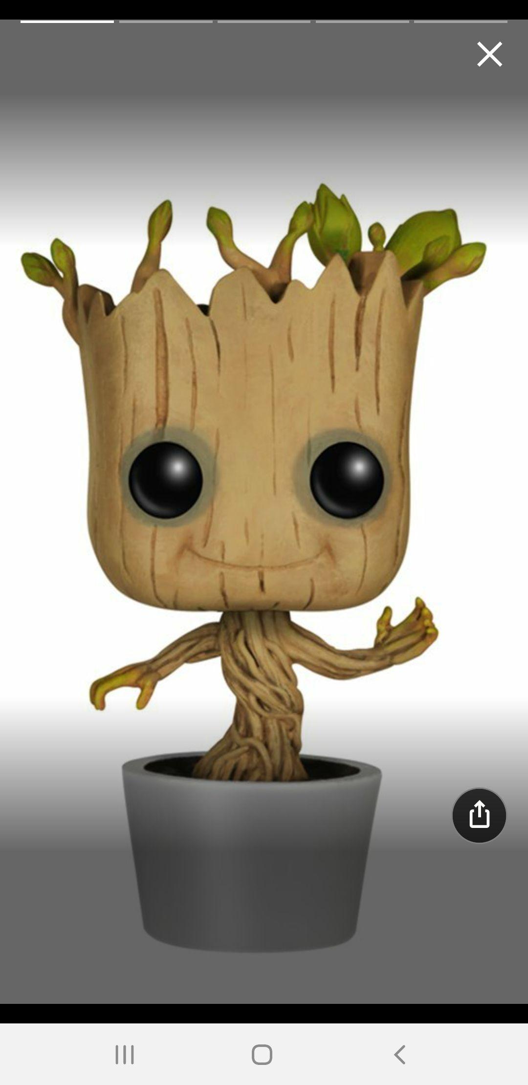 Funko Pop!- Bailando Figura de Vinilo Dancing Groot, colección Guardians of The Galaxy,