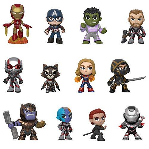 Funko- Mystery Mini Blind Box: Avengers Endgame: Styles Will Vary Marvel Vengadores