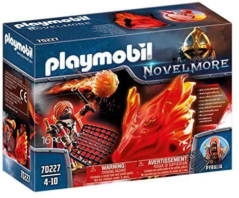 PLAYMOBIL - Novelmore Espíritu de Fuego Bandidos Burnham