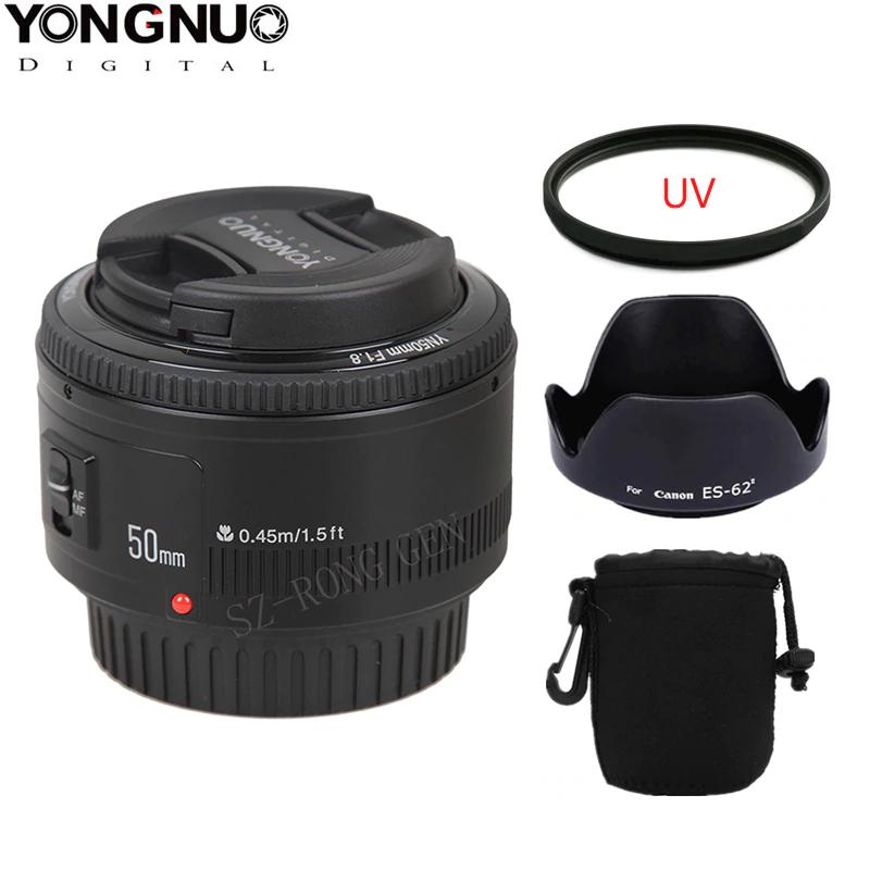 Lente 50 mm F1.8 Para Canon marca Yongnuo