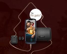 Compra un articulo seleccionado en Motorola y llevate uno auriculares o una soundbox de regalo