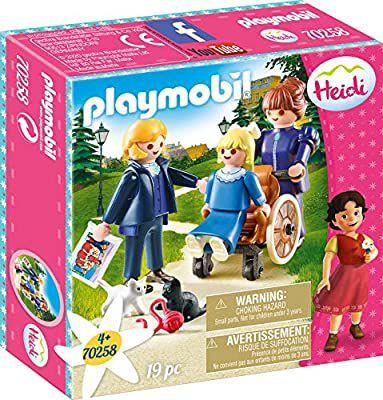 PLAYMOBIL- Clara, Padre y Srta Rottenmeier