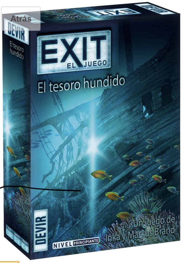 Juego de Escape Room Exit: El Tesoro Hundido
