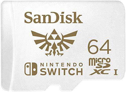 Tarjeta micro sd 64GB (nintendo switch) Mínimo Histórico Amazon