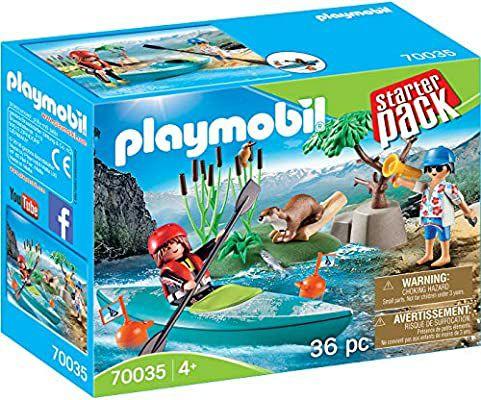 Playmobil tarterPack Aventura en Canoa