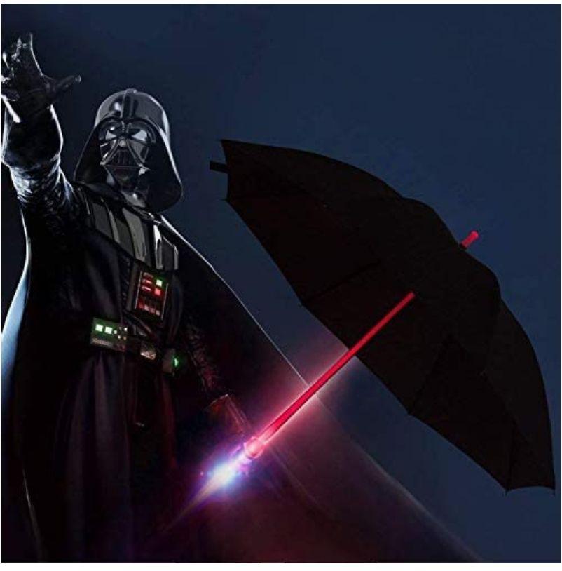 LED Paraguas Lightsaber(Paraguas con sable de luz BESTKEE)