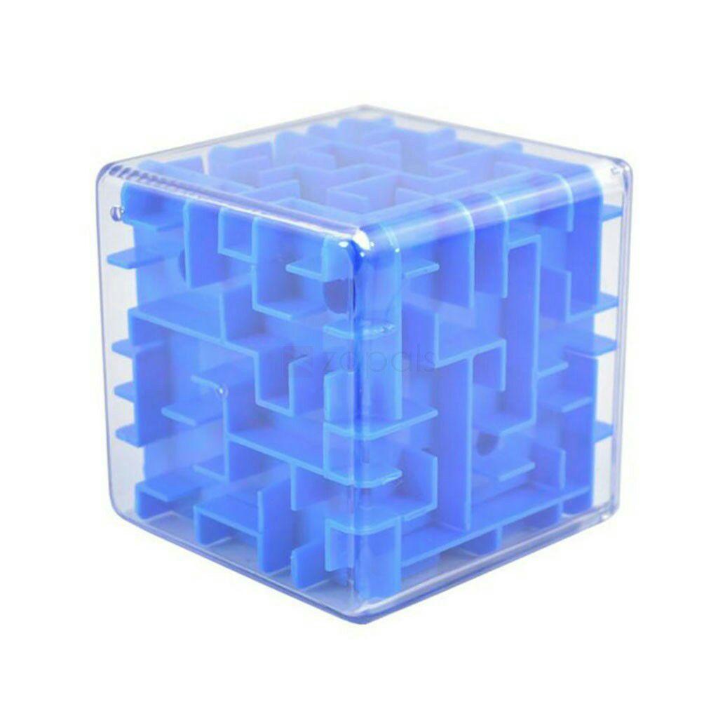 Cubo laberinto 6 caras por 0,27€