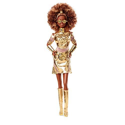 Barbie Signature C-3PO, muñeca coleccionable de Star Wars, juguete de coleccionista, GLY30