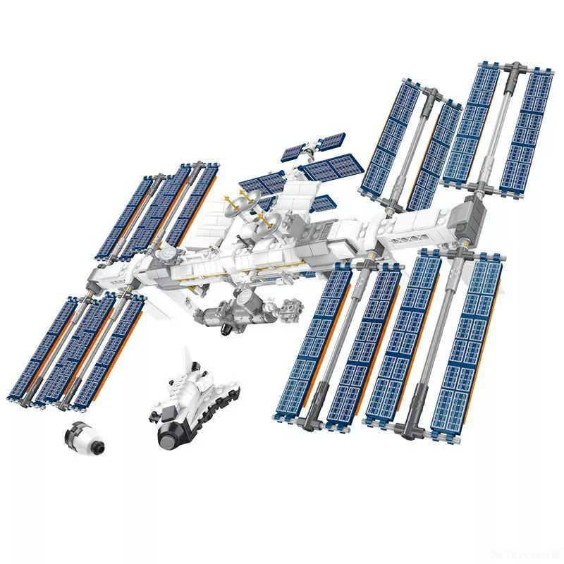 Estación Espacial Internacional (ISS) bloques de construcción