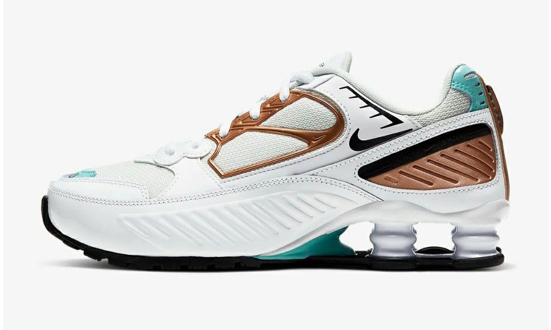 Zapatillas Nike shox de mujer para correr detrás de renos