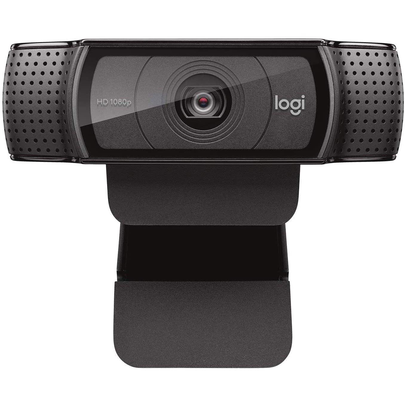 Logitech C920e HD Webcam - Negro