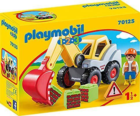 Playmobil 1.2.3 Pala excavadora
