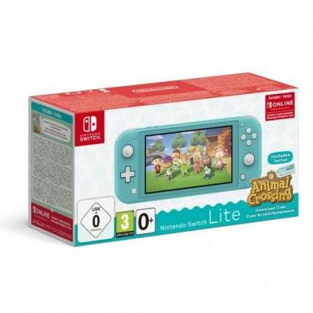 Nintendo Switch Lite Turquesa + Animal Crossing + 3 Meses