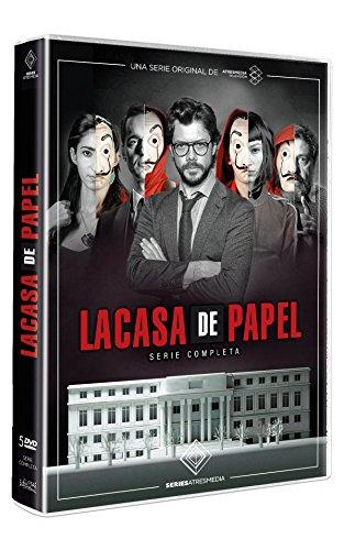 LA CASA DE PAPEL SERIE FORMATO DVD