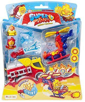 SuperZings - Serie 5 - Blíster Mission Fire Strike