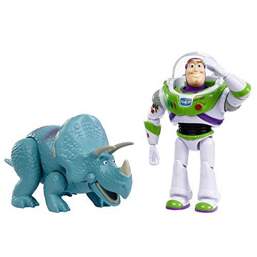 Toy Story 4 Pack de 2 Muñecos, Buzz y Trixie, Juguetes Niños +3 Años