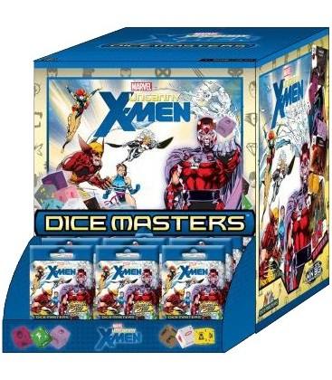 Pack 2 Cajas Dice Masters: X-Men Uncanny (Display de 90 Sobres cada Caja)