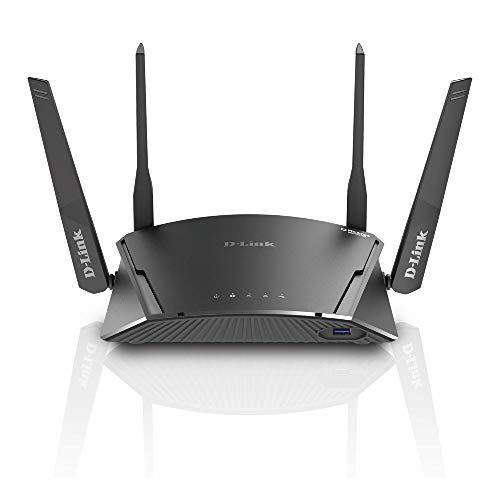 D-Link DIR-1960 – Router WiFi AC1900 MU-MIMO Suscripción de 5 años a McAfee Secure Home Platform y Suscripción de 2 años a McAfee LiveSafe