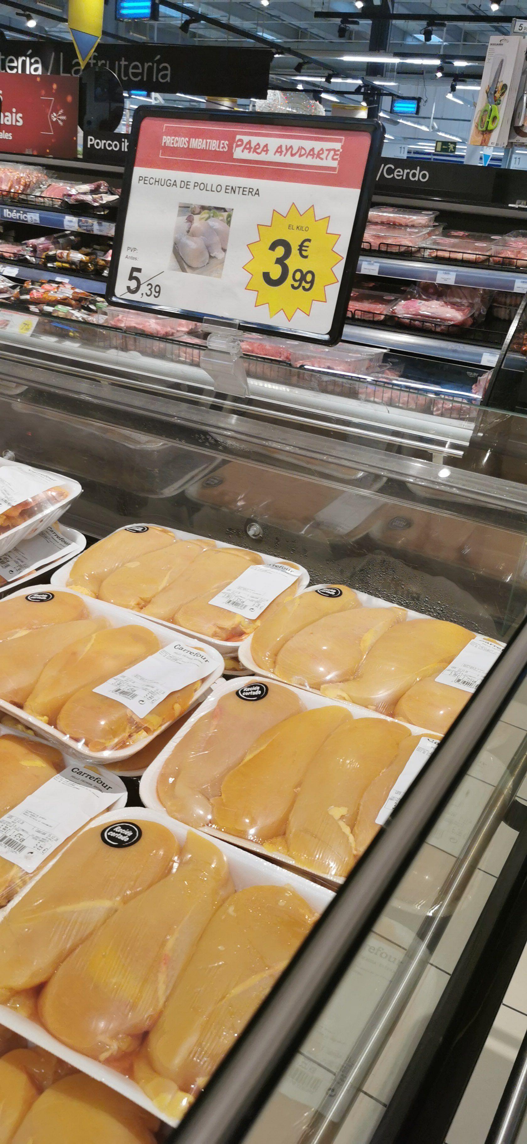 Kilo de Pollo a 3.99€