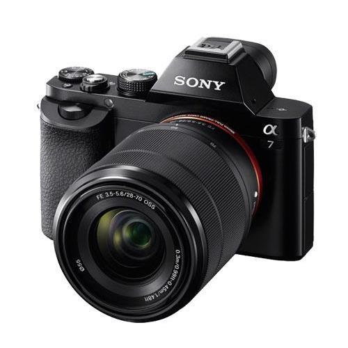 Cámara EVIL Sony ILCE-Alpha7 + 28 - 70 mm Pack