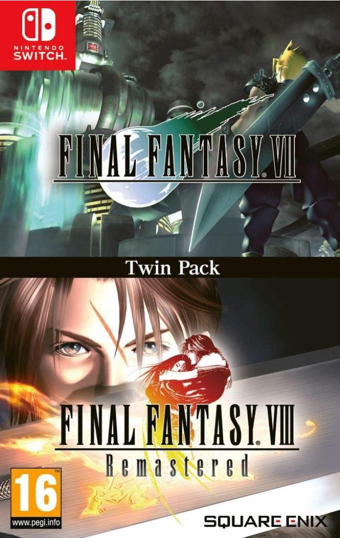 NINTENDO SWITCH: Final Fantasy VII & Final Fantasy VIII Remastered Twin Pack