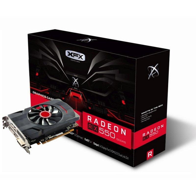 XFX AMD Radeon RX 550 Core Edition 4GB GDDR5