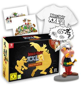 NINTENDO SWITCH y PS4: Asterix & Obelix XXL 2 Collector´s Edition (Juego + Camiseta + Figura resina Astérix de 15 cm + Litografías)