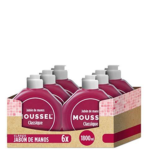 [Pack de 6] Moussel - Jabón de manos, 300 ml