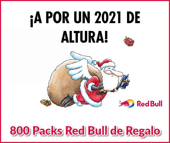 2X Red Bull Sabor original GRATIS
