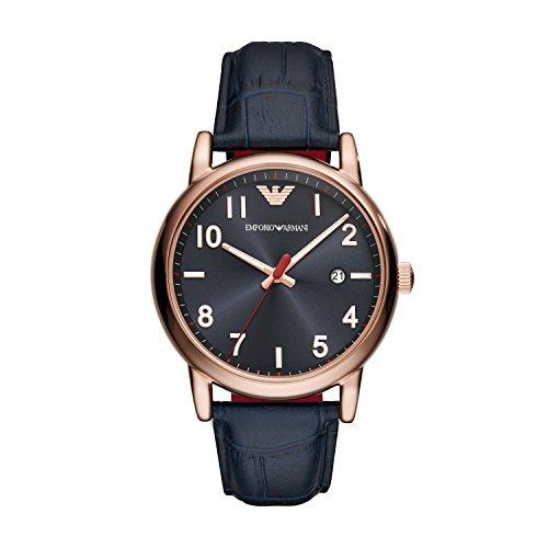 Reloj Analógico para Hombre de Cuarzo, Emporio Armani
