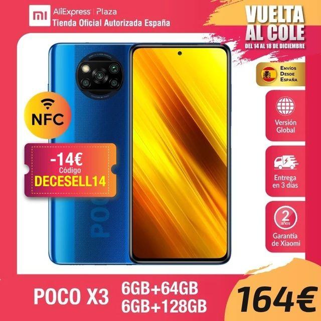 Poco X3 6GB 64GB - Desde España