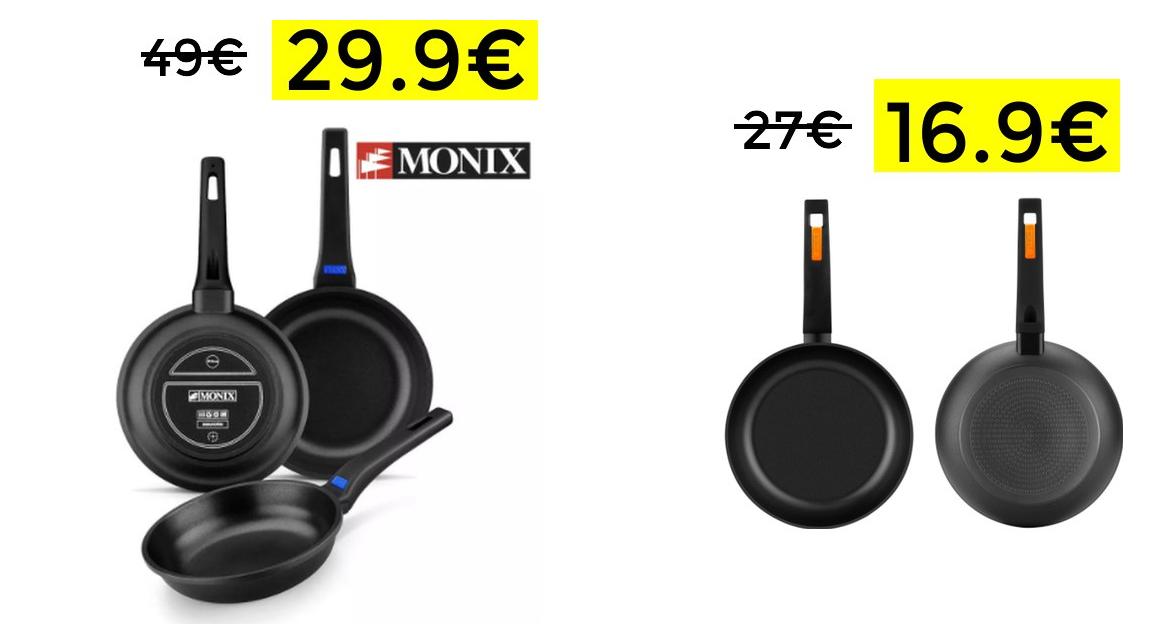 Packs sartenes MONIX   Envio desde España
