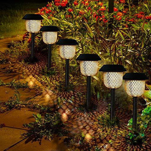 Luces solraes de Jardín Pack 6 unidades