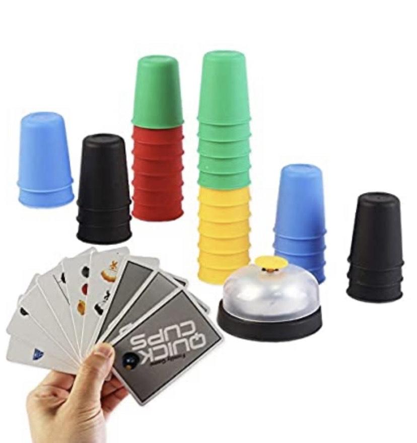 Juego de mesa Copas Locas Juego de Vasos para Apilar con Rapidez Agilidad y Destreza