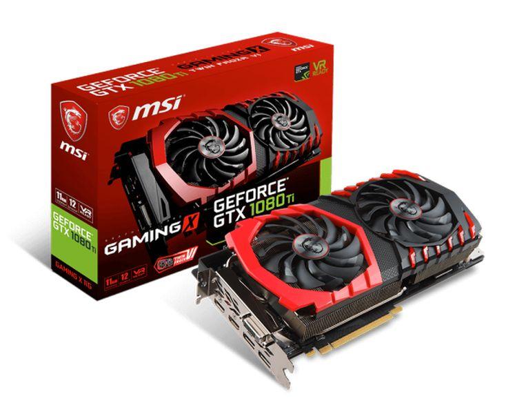 MSI GeForce® GTX 1080 Ti GAMING X 11GB GDDR5X - Reacondicionado