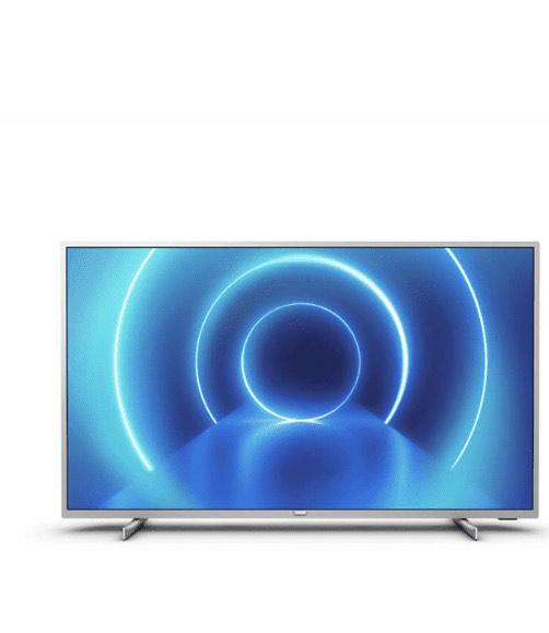 "TV LED 58"" - Philips 58PUS7555/12, UHD 4K, 3840x2160 píxeles, Smart TV, Motor P5, 3"