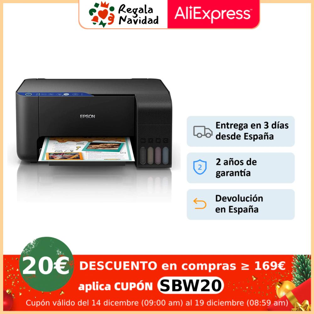 Impresora EPSON EcoTank ET-2711 | Impresión, Escáner y Copia - Sin cartuchos - WiFi