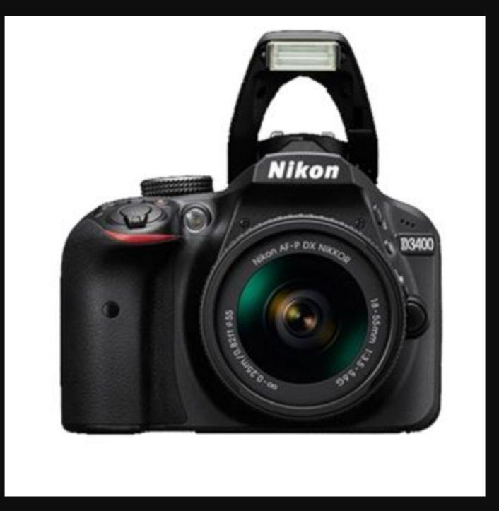 Cámara Reflex Nikon D3400 + 18-55mm